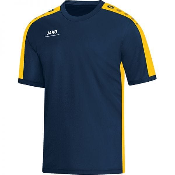 JAKO STRIKER tričko vel. 164, žlutá/modrá