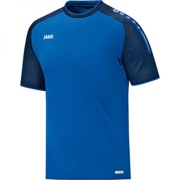 JAKO CHAMP tričko vel. 164, modrá/tmavě modrá
