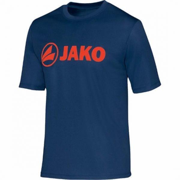 JAKO PROMO funkční tričko vel. 164, modrá/oranžová