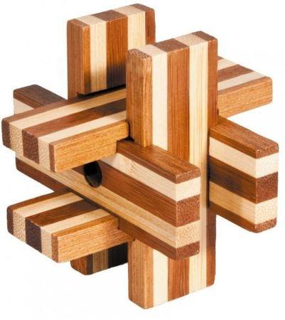 Fridolin IQ test Magic Bloks, bambus puzzle