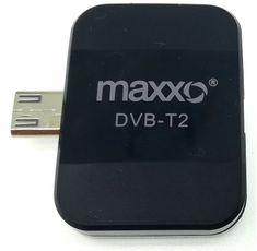 MAXXO DVB-T2 HEVC/H.265 Mobile HD TV tuner