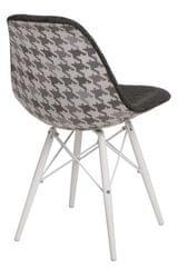 Mørtens Furniture Jídelní židle s bílou podnoží Desire pepito