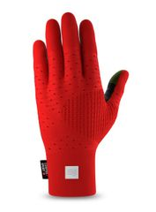 Compressport 3D THERMO Seamless Running Gloves Red