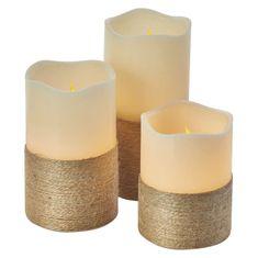 Emos LED dekoracija - sveča s časovnikom, 9xAAA, ovalna