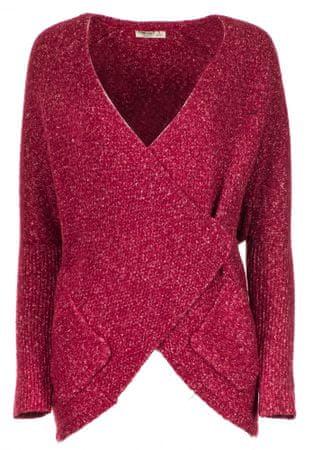 Timeout ženski pulover, S, rdeč