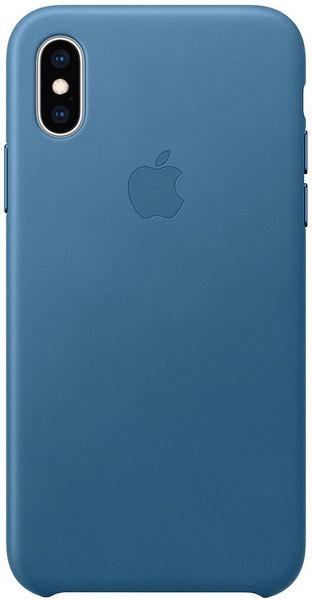Apple Kožený Kryt Na Iphone Xs, Modrošedá mtet2zm/A