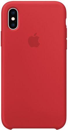Apple silikonska maskica MRWC2ZM/A za telefon iPhone XS (PRODUCT)RED, crvena