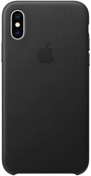 Apple Kožený Kryt Na Iphone Xs, Černá mrwm2zm/A