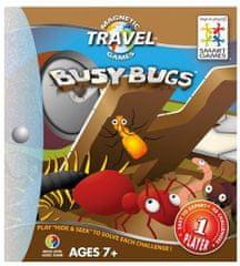 Smart Games magnetna potovalna igra Zaposlene žuželke (48 izzivov)
