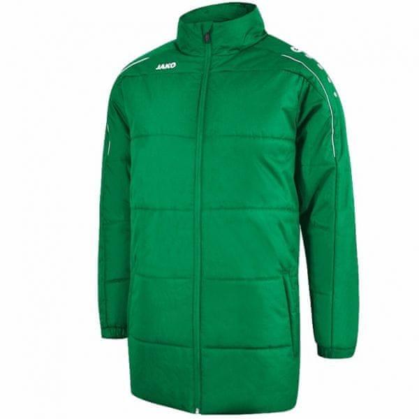 JAKO CLASSICO zimní bunda bez kapuce vel. M, zelená