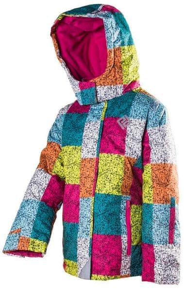 PIDILIDI dívčí lyžařská bunda 134 vícebarevná