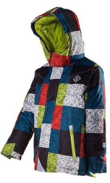 PIDILIDI chlapecká lyžařská bunda 134 vícebarevná