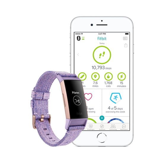 Fitbit Charge 3 Special Edition (NFC) - Lavender Woven