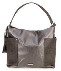 Tamaris torbica Edna, srebrna
