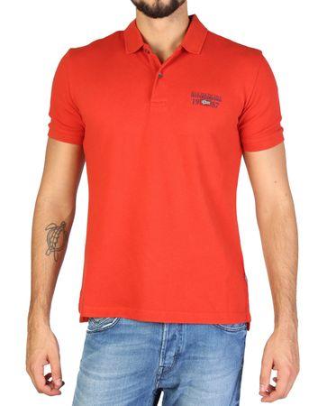 Napapijri moška polo majica, M, oranžna