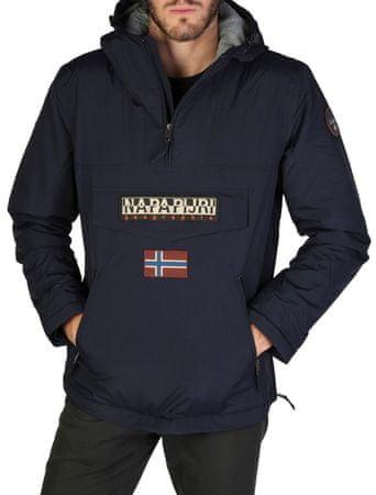Napapijri moška jakna, M, temno modra