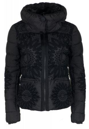Desigual dámská bunda Komoderi 36 černá  939ebc61955