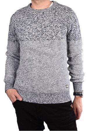 Cars-Jeans Pánský šedý svetr Turno Antra 4496617 (Velikost M) b2cd19abaf