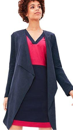 s.Oliver Dámský modrý kabát ve stylu blejzru (Velikost 36)