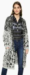 Desigual Női kardigánJers Jacket Grey Leopard 17WWJFC4 2023
