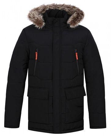 Férfi téli kabát a város Tron Bl Graphite Blue CLM1738-I06I (méret XXL) ece738c9aa