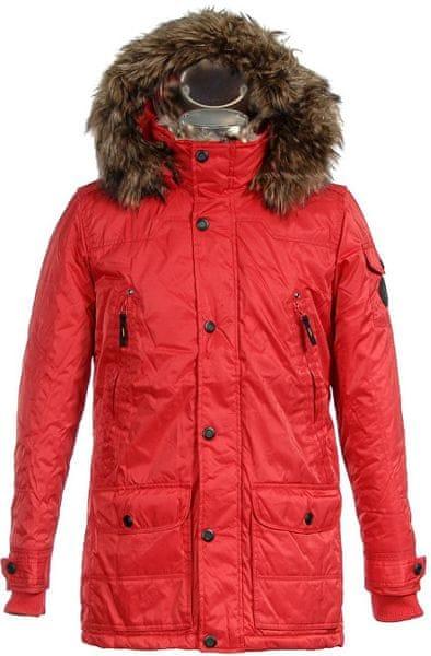 Pánská červená bunda 36201036.030 (Velikost XL)