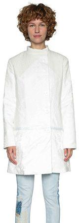 Desigual Dámsky kabát Abrig Emilie 18SWEW96 1000 (Veľkosť 38)