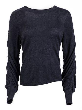 ONLY Női pulóver Azalia L/S Pullover Knt Night Sky (méret S)