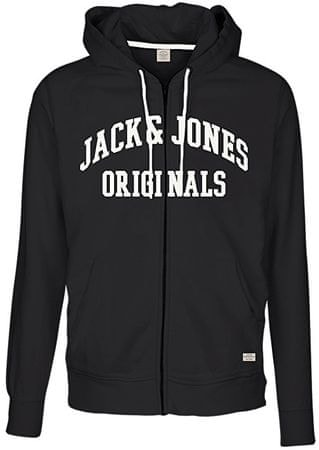 Jack&Jones Pánska mikina Jornewcarry Sweat Zip Hood Tap Shoe (Veľkosť M)