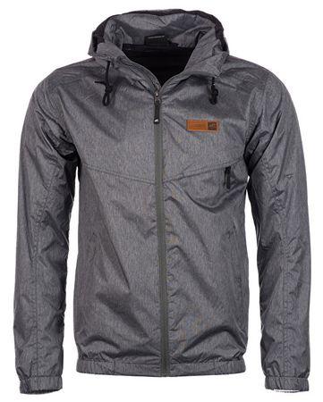 Hannah Férfi kabát Deplozo Steel Gray mel (méret M)