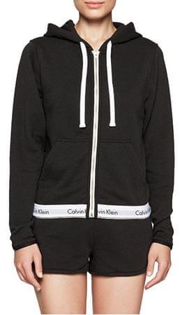 Calvin Klein Dámska mikina Sweatshirt QS5667E-001 Black (Veľkosť S ... f64c6db7dd9