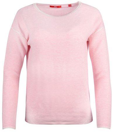 s.Oliver Dámský svetr 14.711.61.4206.42W0 Pink (Velikost 34)
