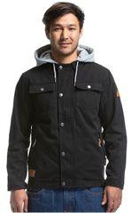 MEATFLY Férfi dzsekik Taras Cotton Jacket A-Black