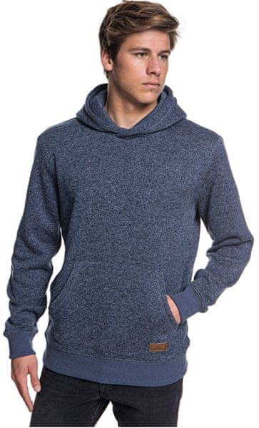 Quiksilver Mikina Keller Hood Navy Blazer Heather EQYFT03836-BYJH (Velikost  L) 5ae1103a7a0