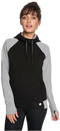 4e88b66f1b3d Roxy Dámská mikina By Here By Now Fleece True Black ERJFT03784-KVJ0  (Velikost XS