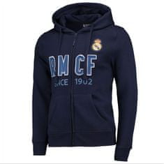 Real Madrid zip jopica s kapuco N°2, M, modra