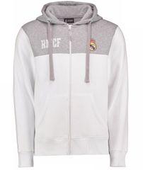 Real Madrid otroška zip jopica s kapuco N°3 116 / 6, bela