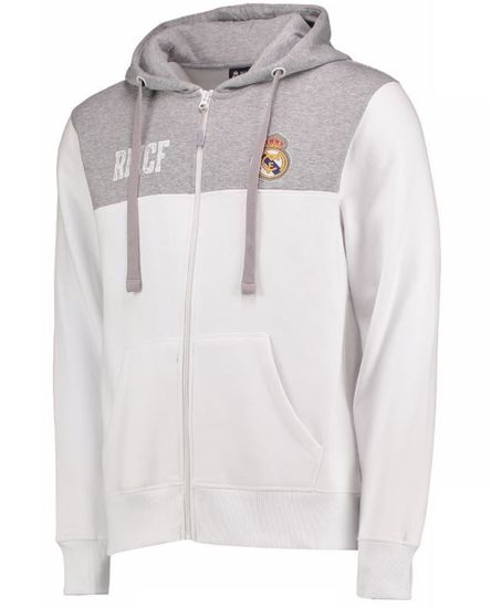 Real Madrid otroška zip jopica s kapuco N°3