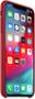 3 - Apple usnjen ovitek za iPhone XS Max (PRODUCT)RED, rdeč MRWQ2ZM/A