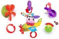 Yookidoo igrača tapni in igraj avion - kravica