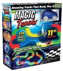Wiky Fajn Magic Tracks svítící autodráha 220 dílů