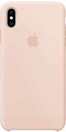 Apple silikonski ovitek za iPhone XS Max, roza MTFD2ZM/A