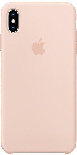 Apple Silikonový Kryt Na Iphone Xs Max, Pískově Růžová mtfd2zm/A