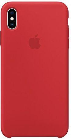 Apple etui silikonowe iPhone XS Max, czerwony MRWH2ZM/A