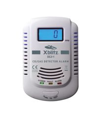 XBlitz Detektor oxidu uhelnatého a hořlavých plynů DG3-1