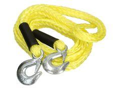 MAMMOOTH Ťažné lano, elastické, 4 m, 3 500 kg, s 2 karabínami