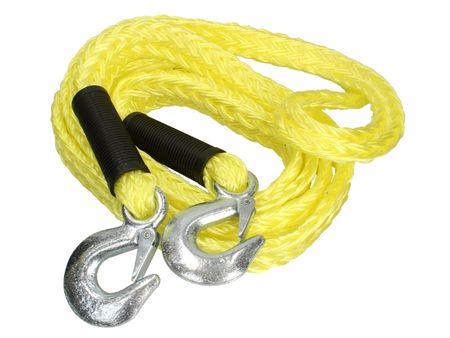 MAMMOOTH Tažné lano, elastické, 4 m, 3 500 kg, se 2 karabinami