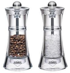 Küchenprofi Set mlýnků na sůl a pepř Toledo, akryl