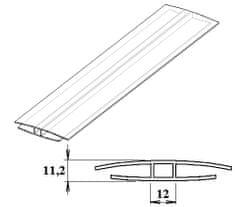 LanitPlast Polykarbonátový H-profil 8 mm 6 m
