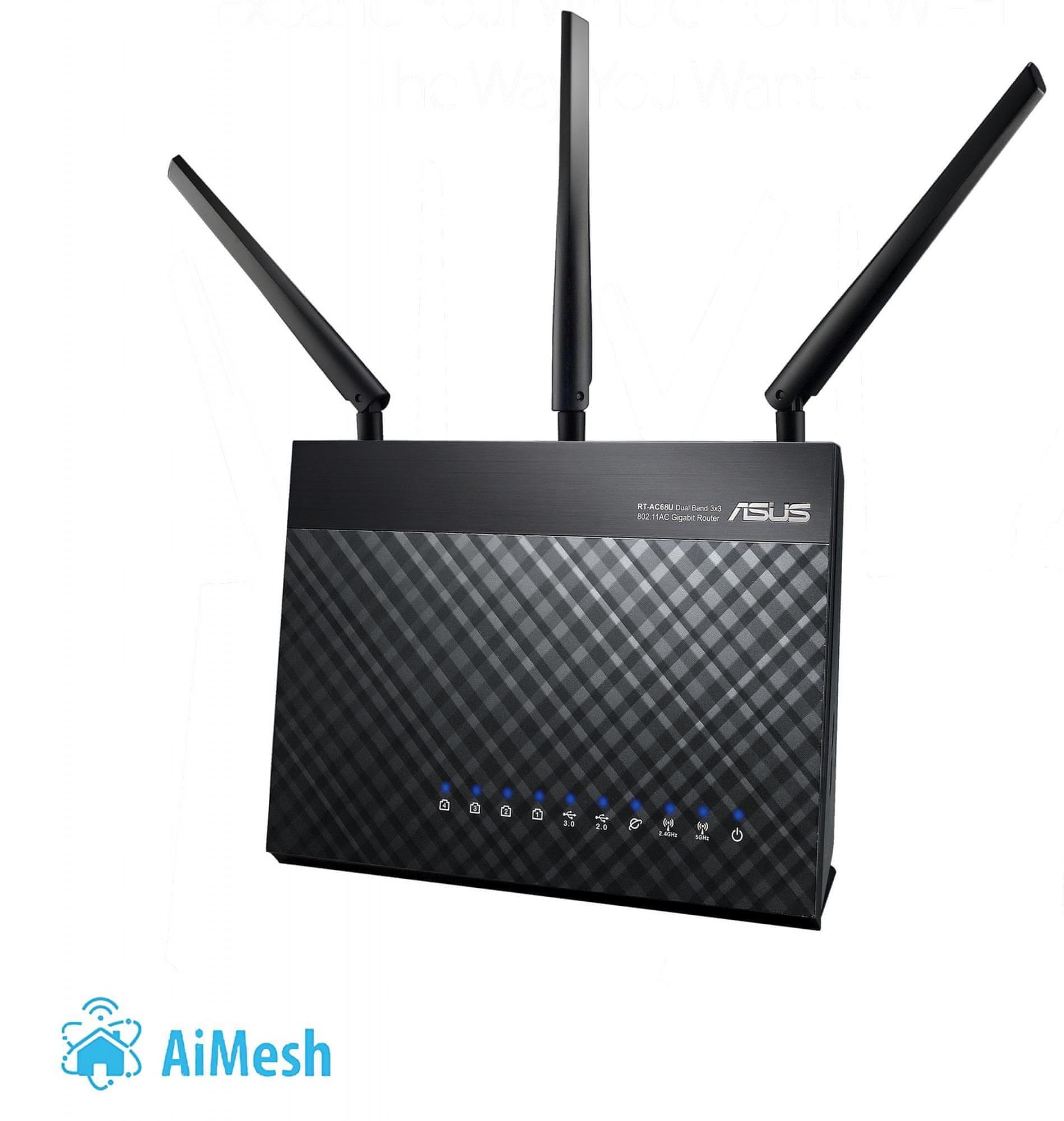 Všesměrová wifi anténa